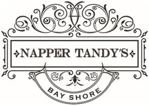 Napper Tandys Bay Shore, Bars in Bay Shore, Restaurants in Bay Shore Sticky Logo