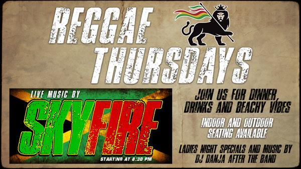 Reggae Thursdays - Live Music by SkyFire
