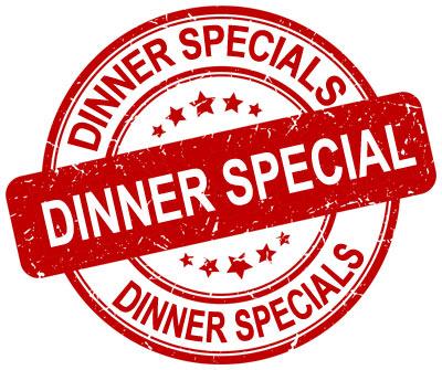 Dinner Specials graphic