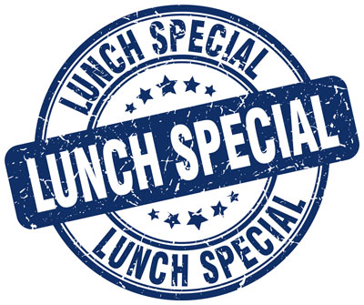 Lunch Specials graphic